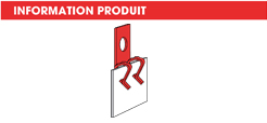info Adaptateur support tube parallèle au panneau