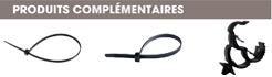produits complémentaires adaptateurs pour lanieres ou tubes à monter sur bords de panneaux Raymond