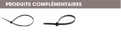 produits complémentaires adaptateurs pour lanieres à pressionner dans un trou Raymond