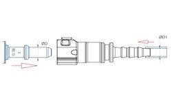 schéma Raccords rapides pour fluides A Raymond pour tuyaux polyamides
