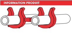 info support tubes pivotant Raymond