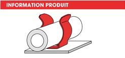 info Supports tubes à riveter ou à visser- Lyre