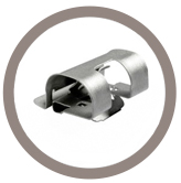 Support tube à diamètre variable
