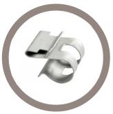 Support tube métal