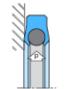 Joint d'étanchéité axiale MANOY® 661