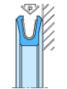 Joint d'étanchéité axiale MANOY® 686