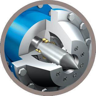 FGTI Distribution Injecteur de turbine Pelton
