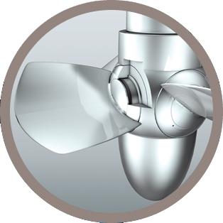 FGTI Distribution Pâle de turbine Kaplan