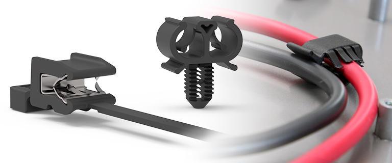 Fixation cables électriques