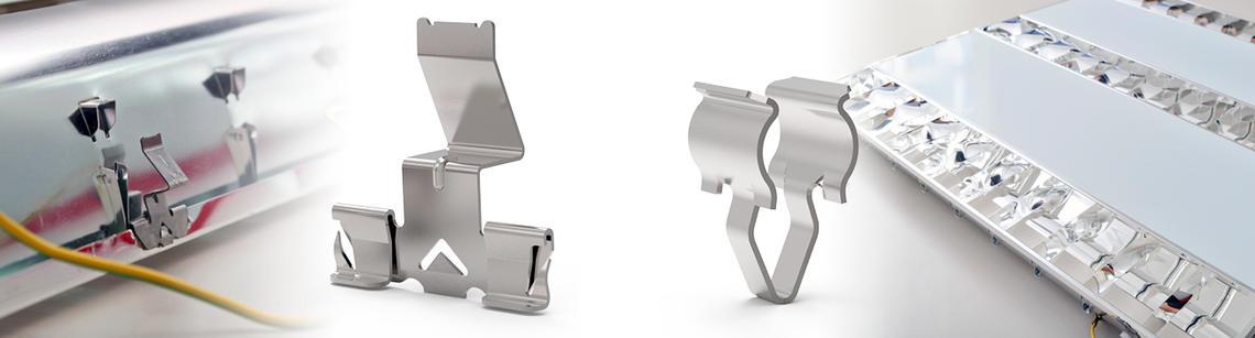 Fixation clip métal