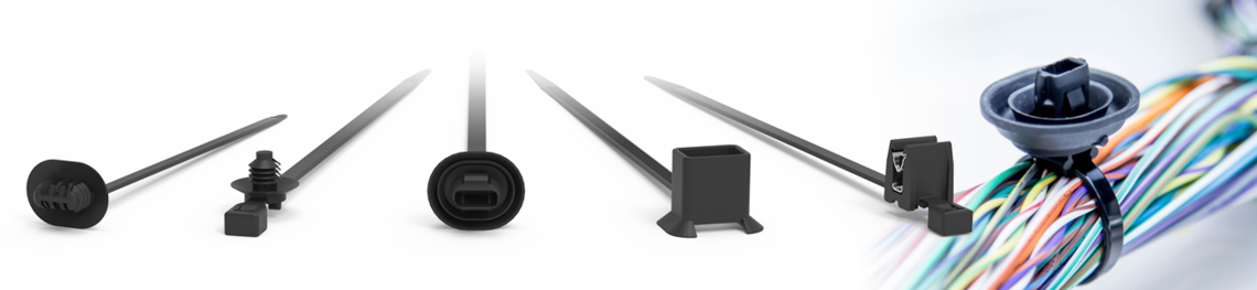 lanières pour panneaux cables tubes faisceaux